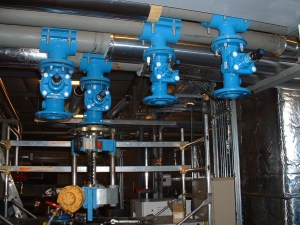 Piquage sur reseau eau glacée - chauffage- Geothermie