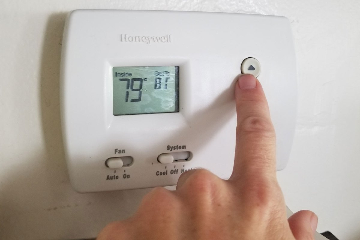 Save on your electric bill by turning down the a/c