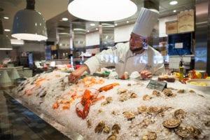Fresh Seafood and Raw Bar at Steak 44