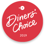 Diners' Choice 2019 badge