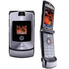Motorola Razr - the phone that served my parents well for almost a decade.