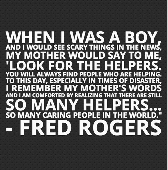 Look For The Helpers Stealing Faith