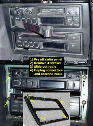 Stealth 316  Sony CDXM800 Head Unit Installation