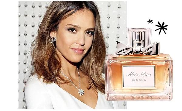 Jessica Alba Perfume Miss Dior