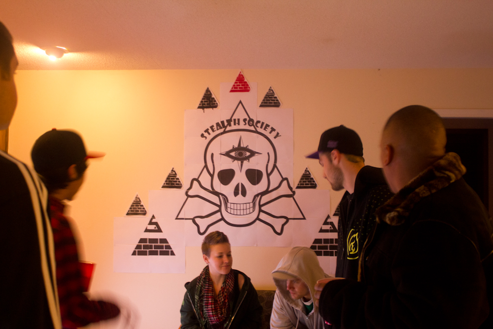 Stealth Society Launch Party Pic
