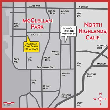 Map of McClellan Business Park