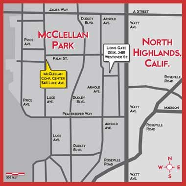 Map of McClellan Business Park