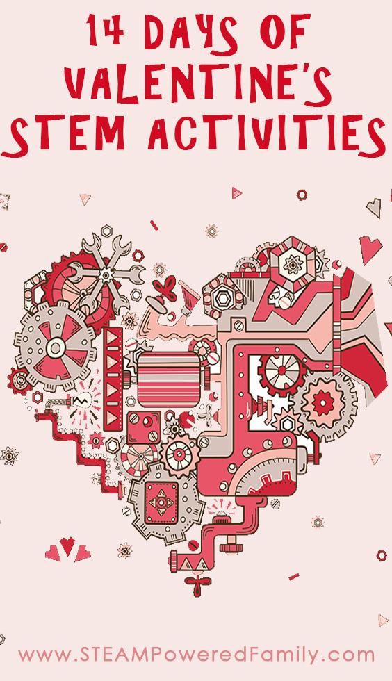 14 Days Of Valentines STEM Activities