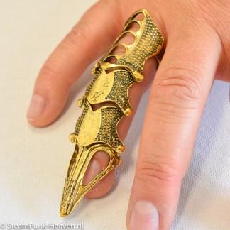 Steampunk Finger-Rüstung