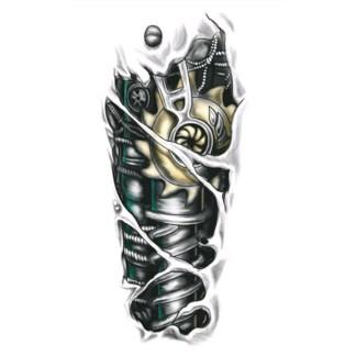 Steampunk Tattoo mechanischer Arm