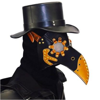 Steampunk Maske Pestdoktor Tho