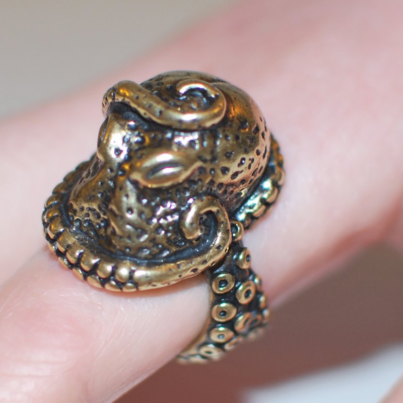 Octopus Ring Cthulhu