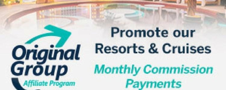 Original Group Affiliate Program Clothing Optional Resorts