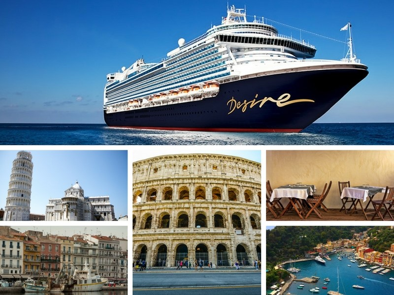 "Desire Cruise 2018.  Join Desire on its ""Desire Experience"" April 2018 Cruise from Barcelona to Rome. Imagine you and your partner enjoying an 8 day Mediterranean cruise featuring such amazing stops as Barcelona, Spain, Monte Carlo, Monaco and so much more."