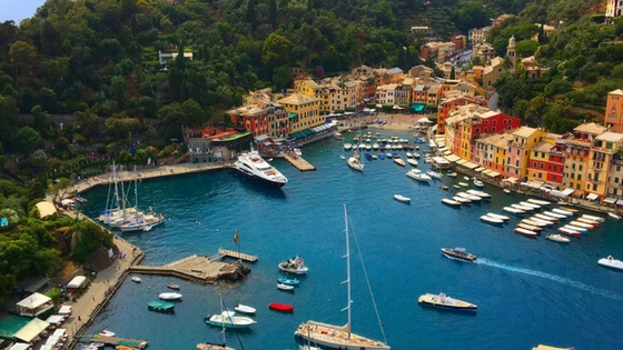On day 5, you will have the unique opportunity to explore Portofino. This tiny picturesque harbor town features charming waterside restaurants, high-end yachts and miles of hiking trails to explore.