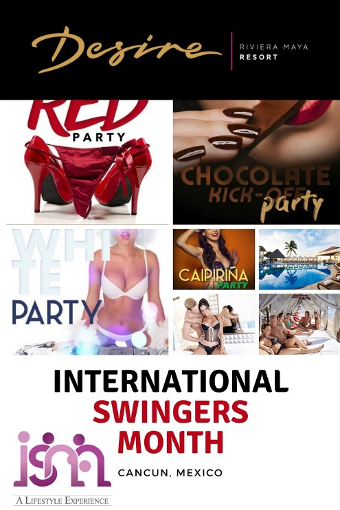 ISM Event. During the month of January Desire Resorts has a month long series of events called the International Swingers Month (ISM for short). This is the 5th year that Desire has hosted this event. The event will feature four workshops that are hosted by VIP attendees. As of today they have announced Jessica O'reilly, Sex and Relationship Expert, and Dr. Markie, Sexual Researcher, Educator and Therapist as two of the VIP attendees.