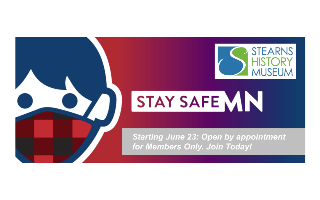 Open To Members By Appointment Only: June 23 – July 3, 2020