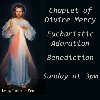Pray with us on Sunday