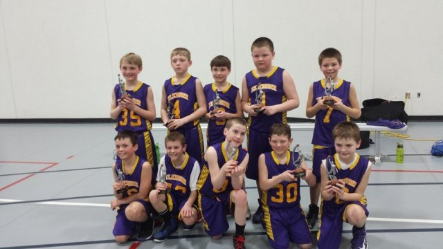 Grady's Basketball team takes home some hardware for being #1!