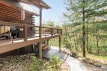 Expansive deck made of durable and low maintenance Timber Tech products