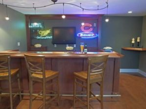 Basement Media Room Remodeling Project - Hartung-Bar-640x480_c