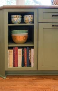 Medallion Cabinetry with decorative hardware in oil rubbed bronze