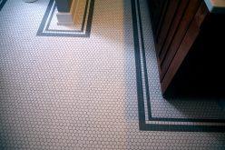 Craftsman Style Master Bath Remodel in Elkhorn - moon-tile-detail5