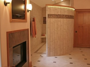 Luxurious Master Bath Remodeling Project in Delavan - master-bath-fireplace-640x480_c
