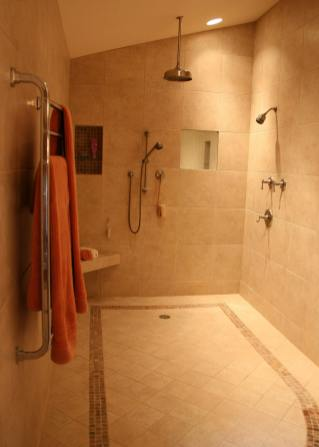 Luxurious Master Bath Remodeling Project in Delavan - master-bath-shower