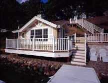 Remodeled Boathouse and House on Lake Geneva - Exter-4