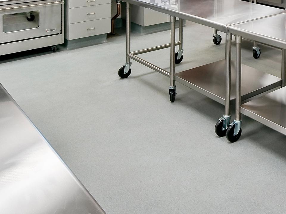 commercial kitchen flooring in