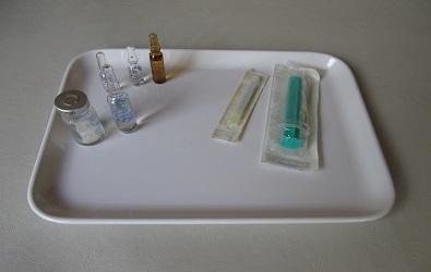 Injektion Therapie Praxis