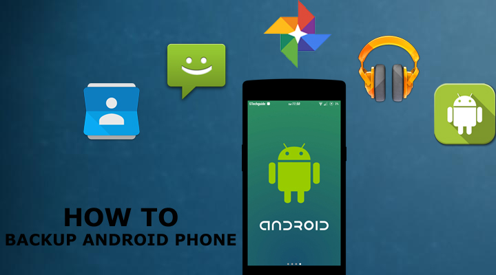 backup your android phone