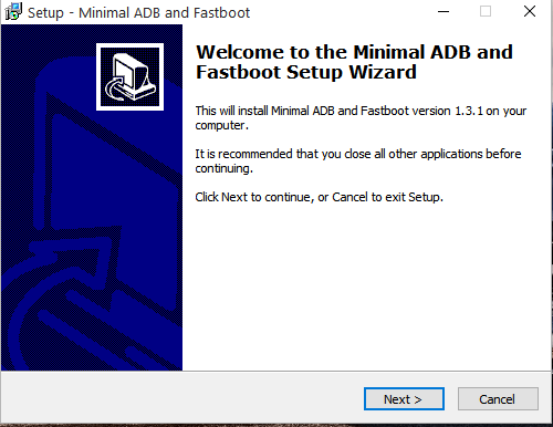 adb and fastboot by minimal adb