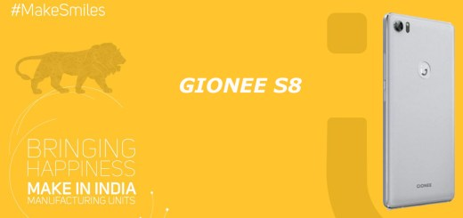 Gionee S8 with 3D touch