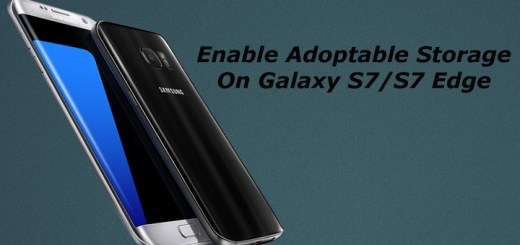 Enable Adoptable Storage On Galaxy S7 and S7 Edge