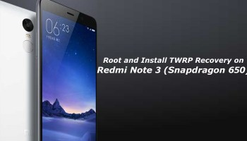 Download Official TWRP 3 0 Recovery for Redmi Note 3