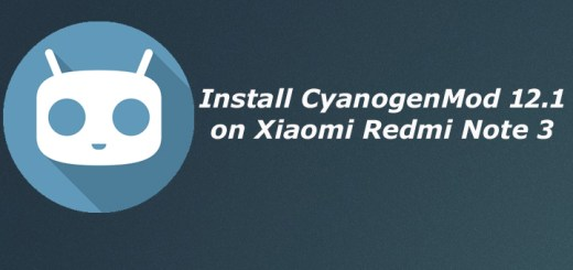 Download and Install CyanogenMod 12.1 on Xiaomi Redmi Note 3