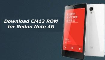Download CM13 ROM for Redmi 2/2A/Prime