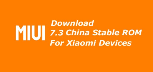 Download MIUI 7.3 China Stable ROM for Xiaomi Devices