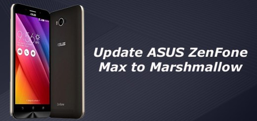 Update ASUS ZenFone Max to Marshmallow