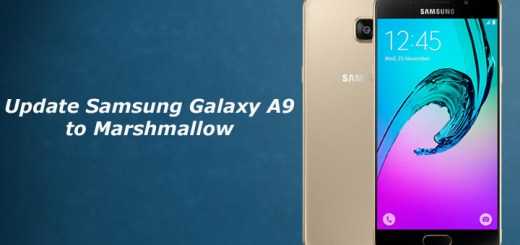 Update Samsung Galaxy A9 to Marshmallow