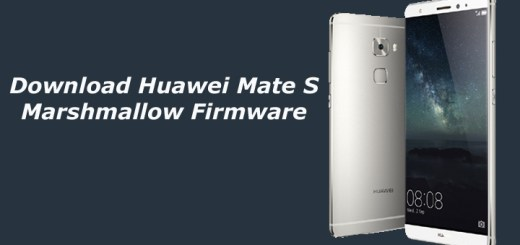 Download Huawei Mate S Marshmallow Firmware