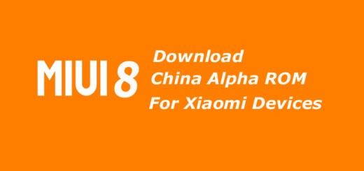 Download MIUI 8 China Alpha ROM for Xiaomi Devices