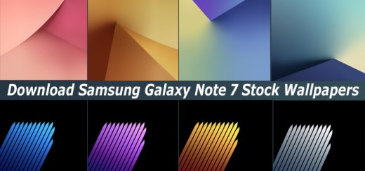 Download Samsung Galaxy Note 7 Stock Wallpapers