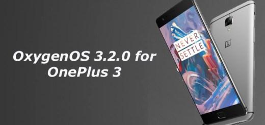 OxygenOS 3.2.0 for OnePlus 3