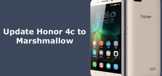 update Honor 4c to Marshmallow