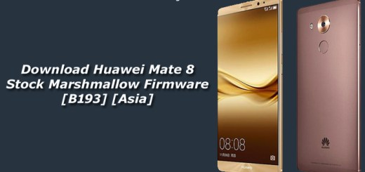 Download Huawei Mate 8 Stock Marshmallow Firmware