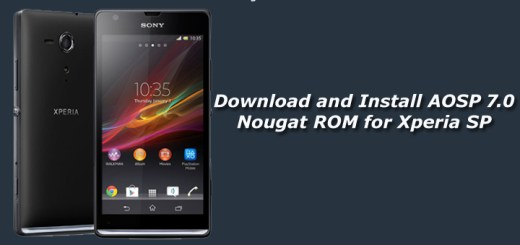 Download and Install AOSP 7.0 Nougat ROM for Xperia SP