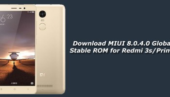 Download MIUI 7 5 8 0 Global Stable ROM for Redmi 3S